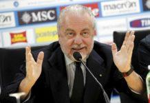 Calcio Napoli: De Laurentiis parla di Ancelotti, Balotelli,Hamsik e Sarri