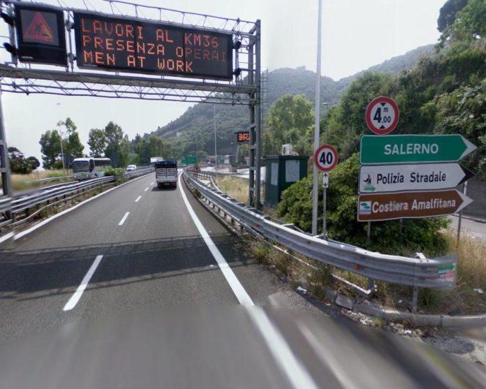 autostrada salerno napoli