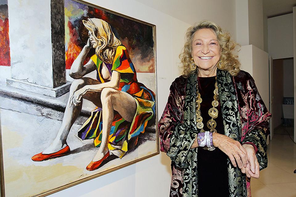 Addio a Marta Marzotto, la regina dei salotti d'Italia