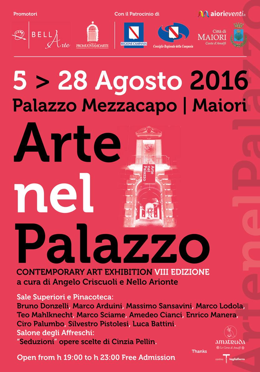 """""""Arte nel Palazzo"""" VIII edizione, la migliore arte italiana dal 5 agosto a Maiori"""