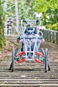 San Marino Downtown del Gravity Team - Test Handbike per disabili
