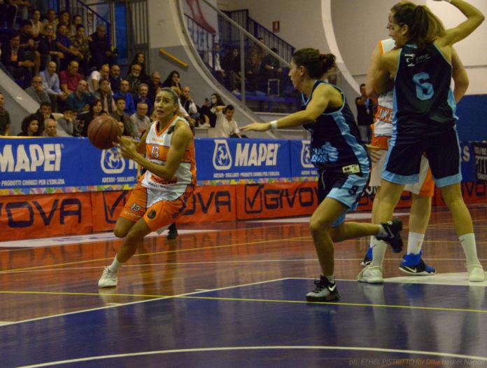 Debora Gonzalez Dike Basket vs Umbertide