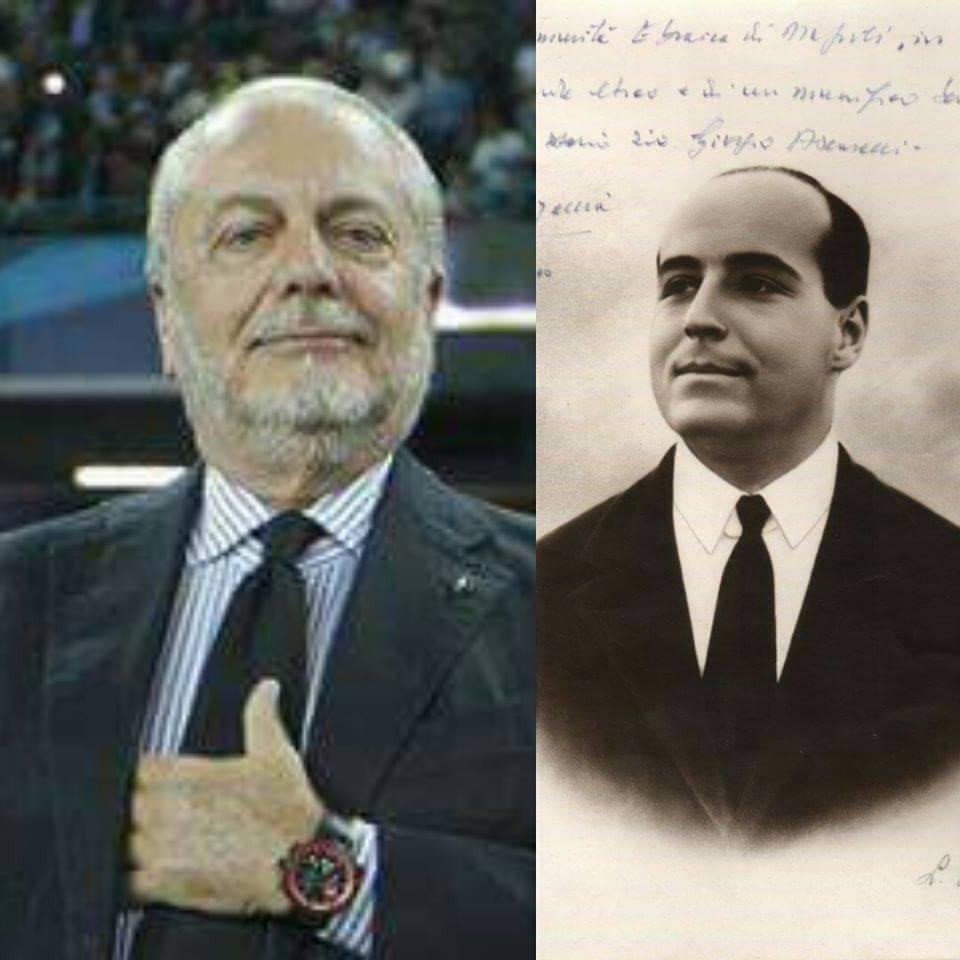 Giorgio Ascarelli, fondò nel 1926 la Società Sportiva Calcio Napoli. La sua tomba dimenticata e abbandonata