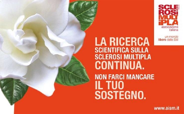 La Gardenia dell'AISM torna nelle piazze italiane