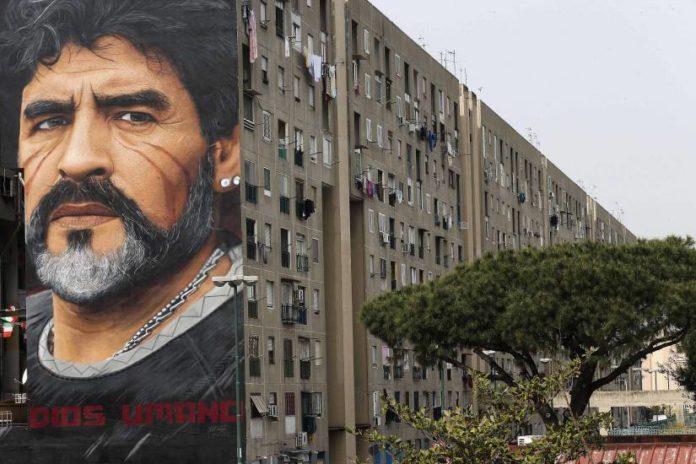 Jorit, l'autore del murales di Maradona arrestato in Israele
