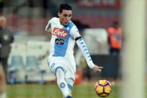 """Il tridente del Napoli """"mata"""" il toro: Torino-Napoli 0-5"""