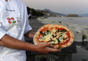 Giovedì14 dicembre pizza gratis per celebrare il riconoscimento Unesco