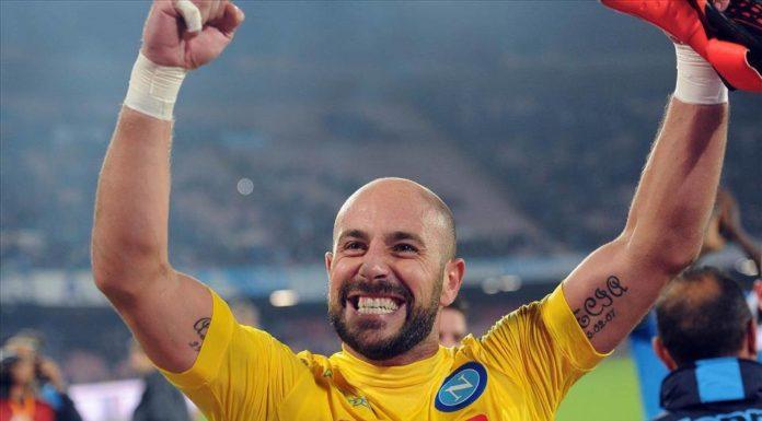 """Calcio Napoli, Reina: """"Avremmo meritato lo scudetto, ma la Juve..."""""""