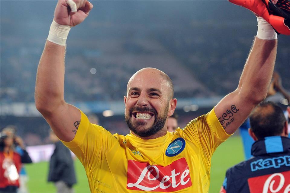 Calcio Napoli, Reina: