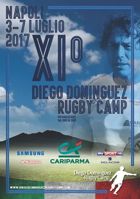 """Diego Dominguez Rugby Camp"" al CUS di Napoli"