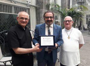 progetto politiche di marketing Salesiani Don Bosco e Palazzo Caracciolo premiati Marco Zuppetta e Giuseppe Giorgio in Foto
