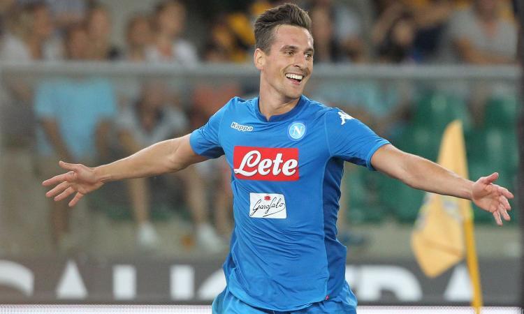 Calcio Napoli, per Milik recupero ok: può tornare in campo a febbraio