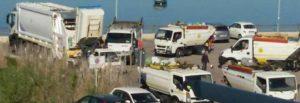 Ultime Notizie: Bacoli, è polemica sui rifiuti trasferiti in area di sosta