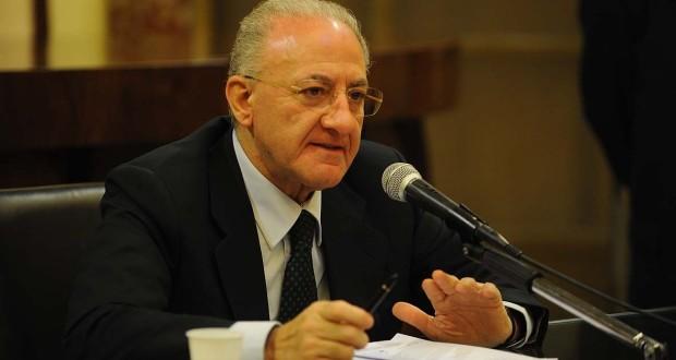 """Regione Campania: Approvato il bilancio di previsione 2019-21 e la Legge di Stabilità 2019. De Luca: """"investimenti, lavoro e difesa del Sud""""."""