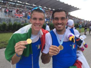 Il Panathlon Napoli celebra i canottieri campani