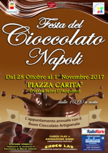 Nel cuore di Napoli la Festa del Cioccolato Artigianale
