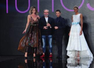 wedding Rocco Barocco tra l'attrice Stella Manente e Gino Signore presidente dell'Atelier Signore