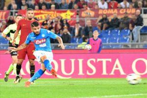Napoli, la squadra record nei principali campionati europei