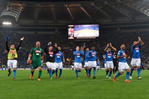 Ottava meraviglia: il Napoli vince all'Olimpico 1-0 contro la Roma