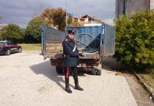 Montesarchio, furto di rame manda in tilt impianto idrico
