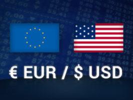 Il cambio EUR/USD è la coppia più scambiata sul Forex