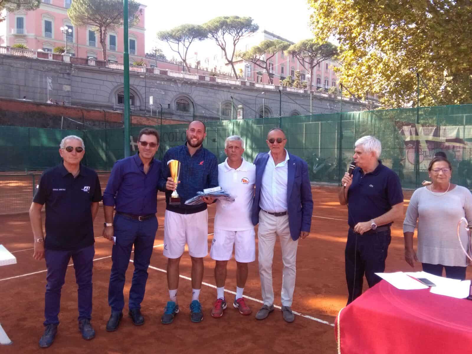 Tennis al Canottieri. Fioravante vince il Torneo Nazionale Open