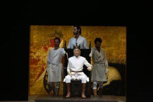 Al Teatro Mercadante in scena Richard II di William Shakespeare