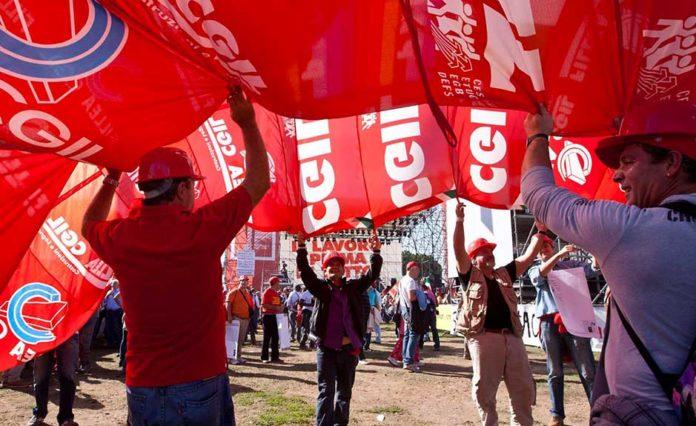 Pensioni, a Bari la manifestazione della Cgil per il Sud