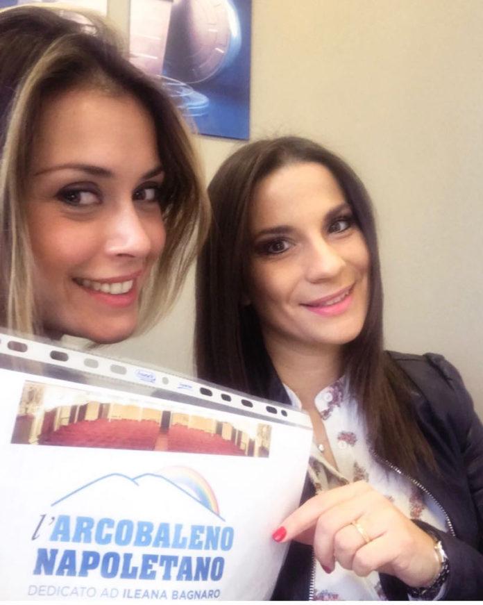 Fatima Trotta è la conduttrice dell'Arcobaleno Napoletano
