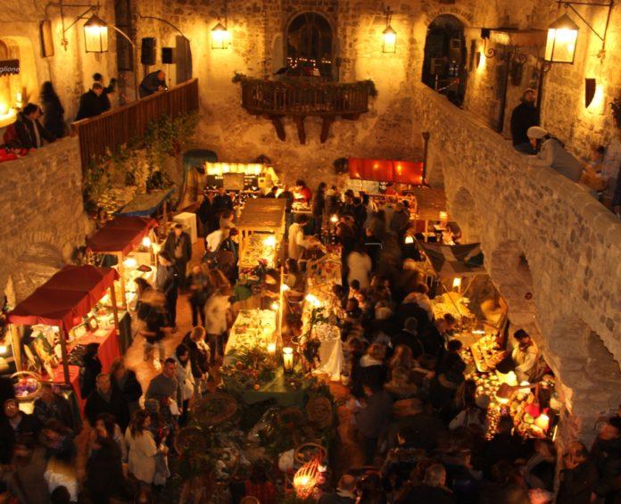 Al Castello di Limatola il primo mercatino di Natale