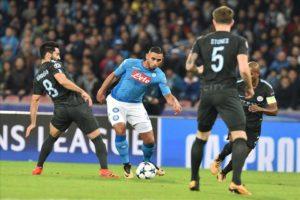 Calcio Napoli, troppo forte il City: gli azzurri cedono 2-4
