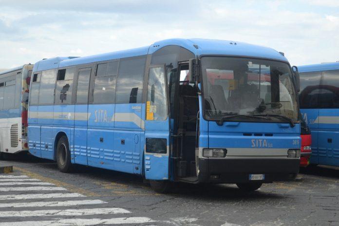 News Salerno, autisti SITA in sciopero contro le aggressioni sui bus