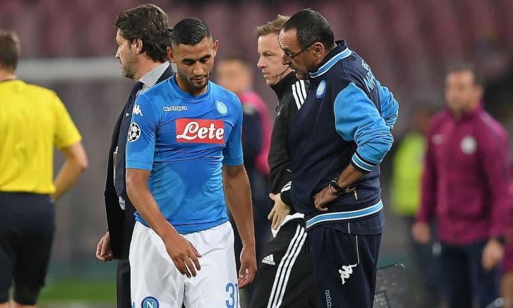 Calcio Napoli: sospetta frattura della rotula per Ghoulam