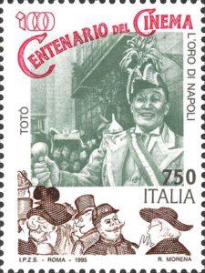 Un francobollo per Totò a cinquant'anni dalla scomparsa