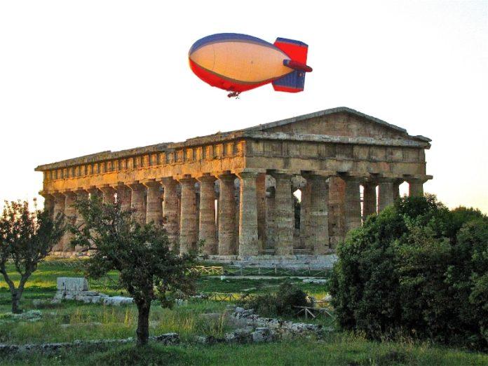 Cronaca di Salerno, un dirigibile a difesa della Città dei Templi