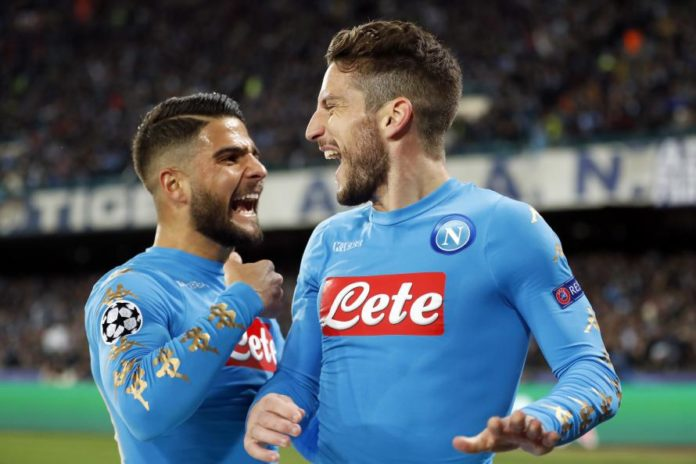 Calcio Napoli: il derby è del Napoli. Mertens ed Hamsik stendono il Benevento