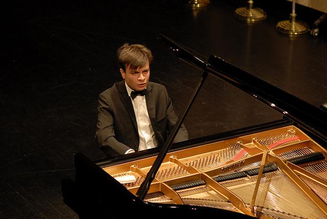 Leonardo Colafelice, il pianista danzante