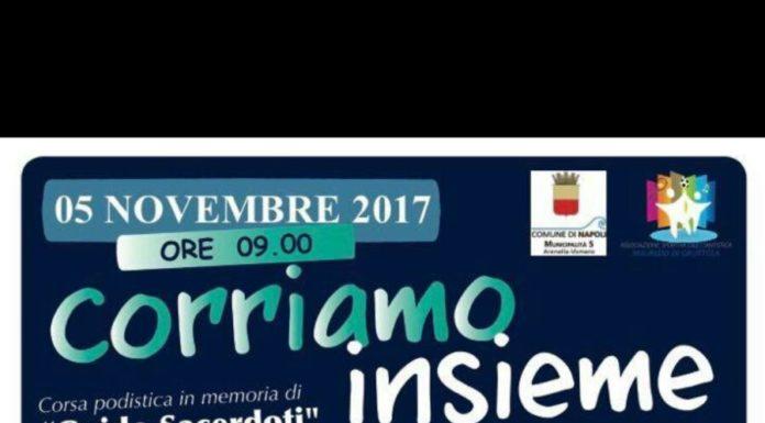 """""""Corriamo Insieme"""" la gara in memoria di Guido Sacerdoti"""