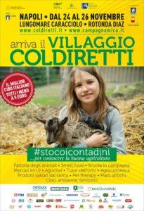 Arriva a Napoli il Villaggio contadino della Coldiretti