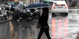 Meteo Campania, è arrivato l'inverno: freddo e piogge su tutta la regione