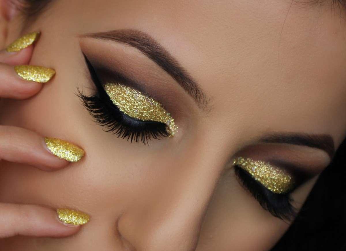 spesso Make up, ecco come realizzare il trucco nero e oro | 2A News PW25