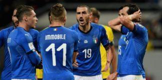 Svezia-Italia 1-0: azzurri a rischio eliminazione da Russia 2018