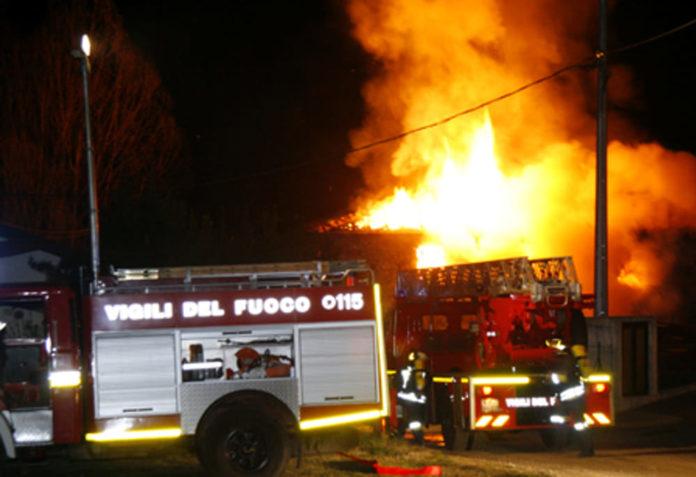 Cronaca di Salerno. Incendio a San Severino, tre morti carbonizzati