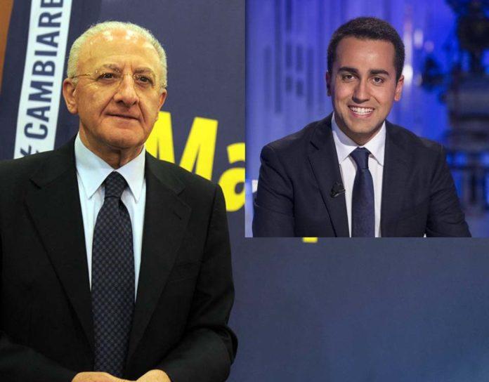 Vincenzo De Luca nuovo scontro politico con Di Maio