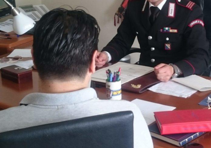 Vendita di patente di guida online per un importo di 750 euro. Truffatore denunciato dai Carabinieri di Andretta.