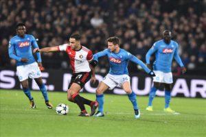Calcio Napoli. Gli azzurri sconfitti a Rotterdam giocheranno in Europa League