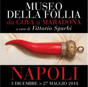 Sgarbi a Napoli presenta il Museo della Follia da Goya a Maradona 2