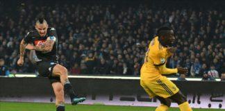 Calcio Napoli. Amara sconfitta per gli azzurri al San Paolo