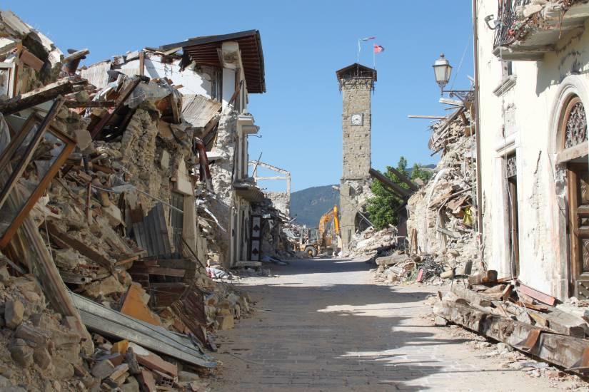 Amatrice, stanotte forte scossa di terremoto