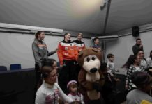 La Saces Mapei Givova alla festa di Natale del Santobono